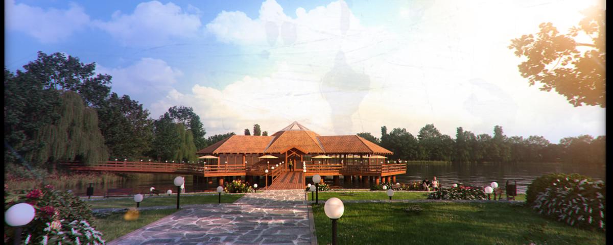 132- Étterem Délegyháza