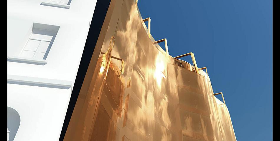 083 - Hotel Clark Pályázati terve