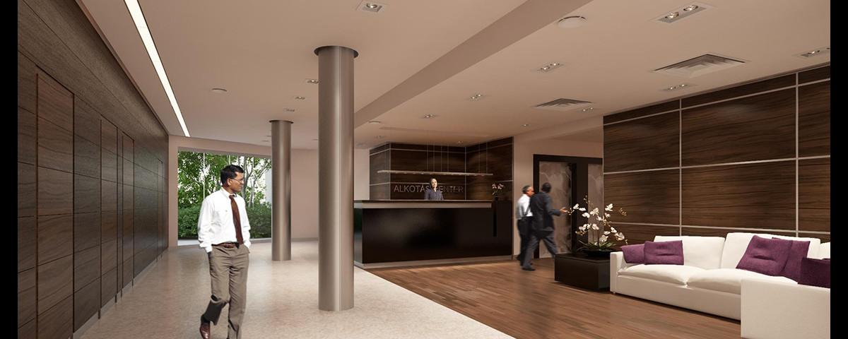 179 - Alkotás Center, LobbyBudapest