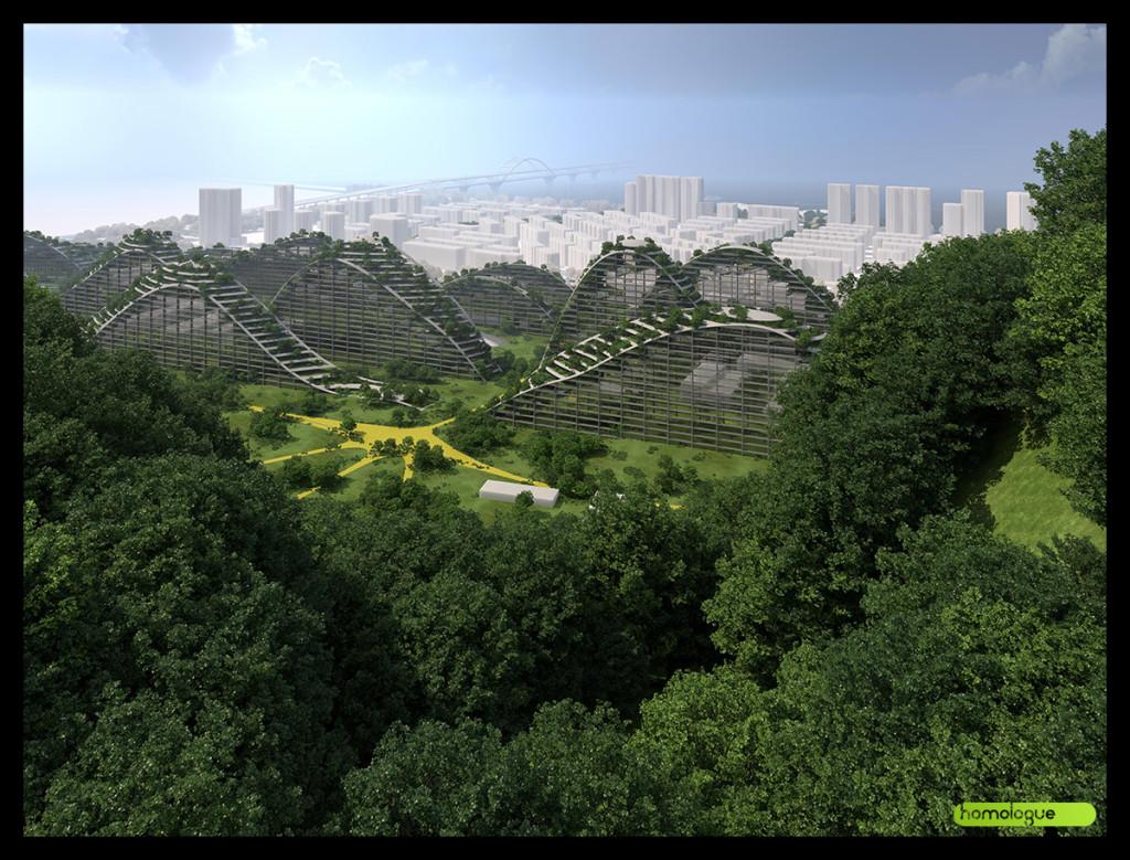 180 - Várostervezési pályázat, Hangzhou Kína