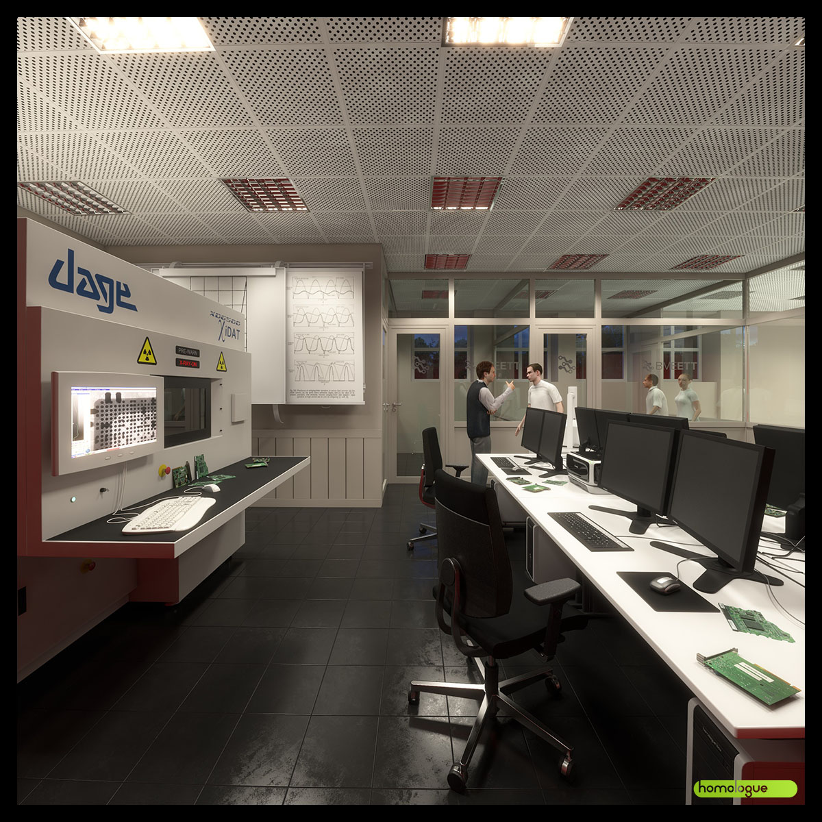 Elektrotechnikai labor, BME V2 épület