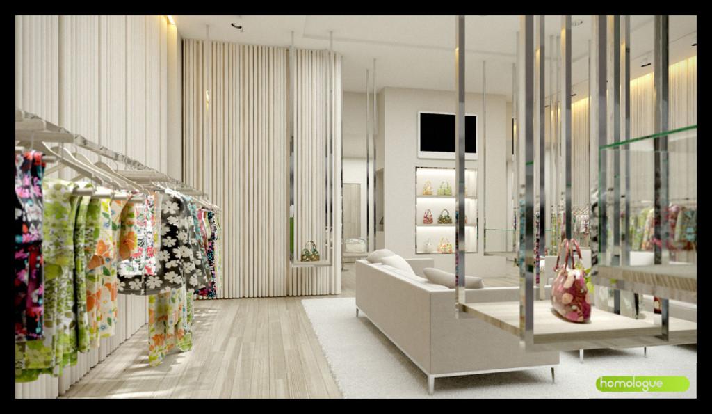 Butik belső, MOM Bevásárlóközpont