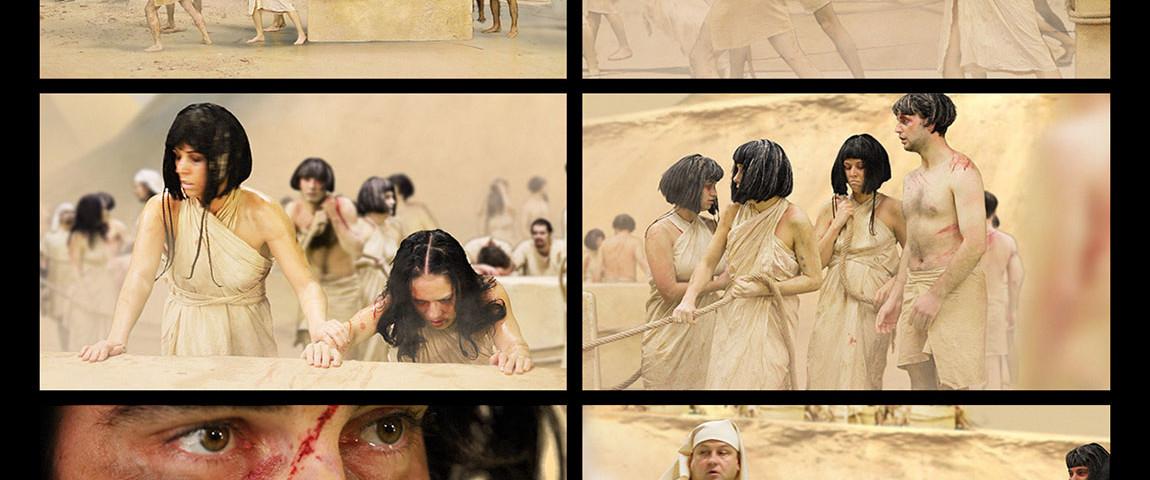 Az ember tragédiája színdarab VFX Szombathely