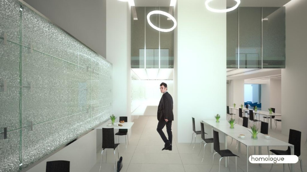 302 - Révay irodaház, Lobby