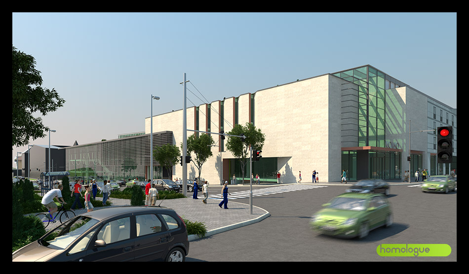 Pécs Corso üzletközpont