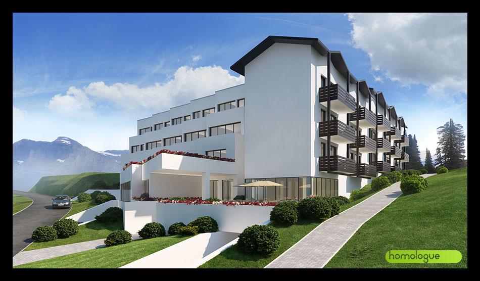 146 Idősek otthona Laax, Svájc