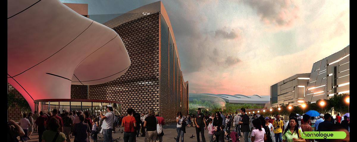 Városépítészeti Koncepció, Dongying Kína