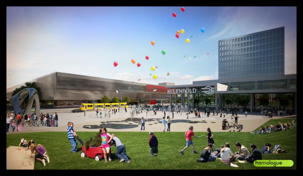 192 - Etele tér, Várostervezési koncepció
