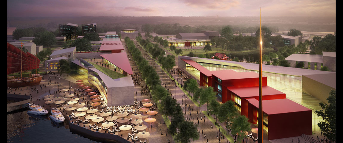 194 - Városbővítési tervek, Don-YingKína