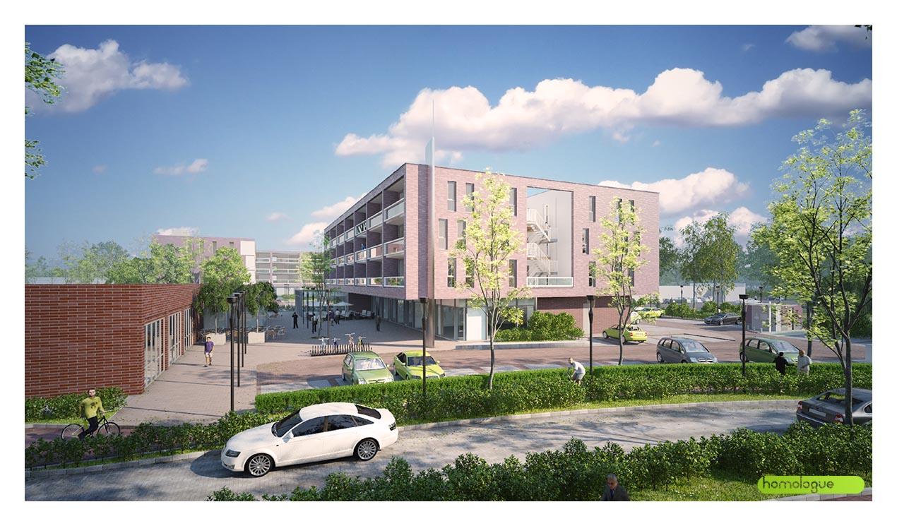 209 - Társasház Blaricum, Hollandia