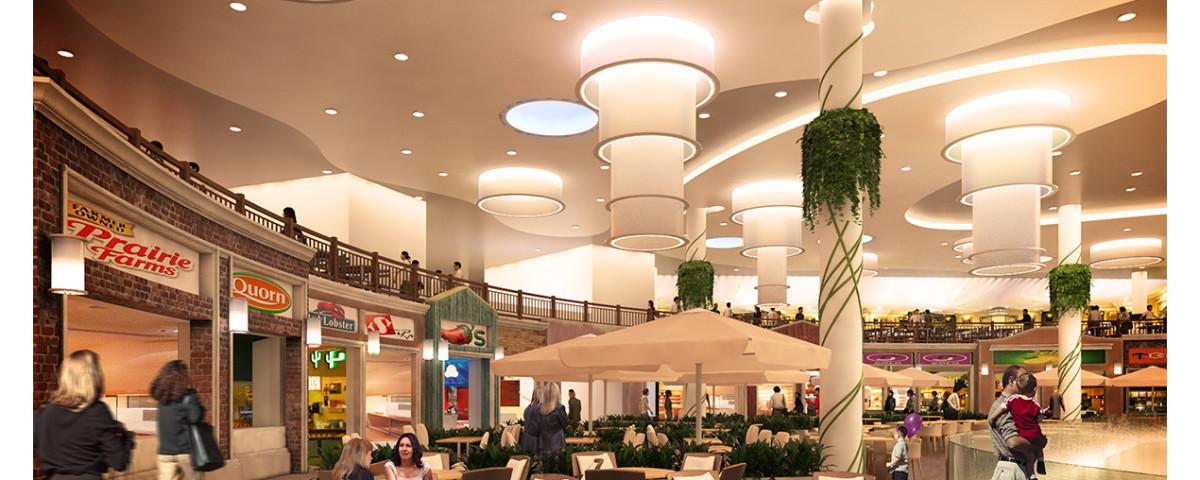 207 - Pólus Center külső belső átalakítása