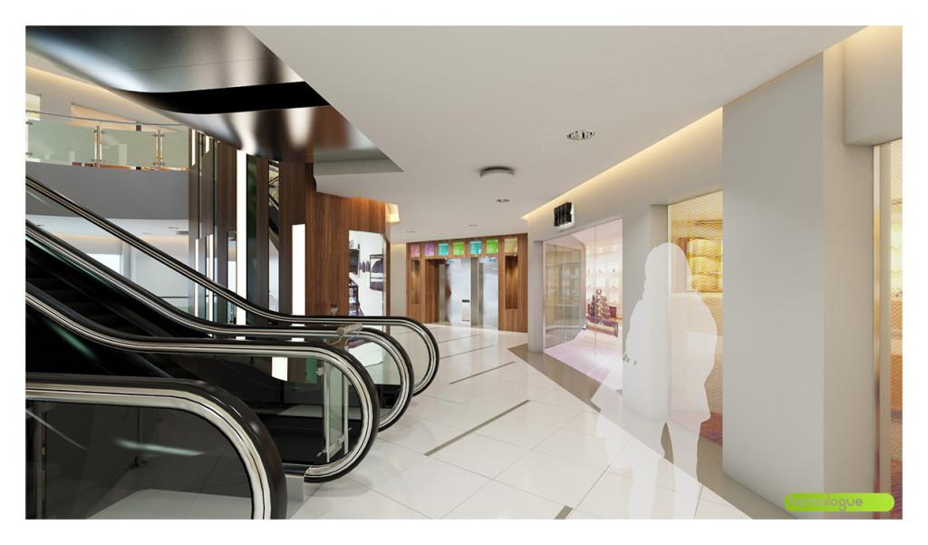 Rózsakert Bevásárlóközpont átalakítása